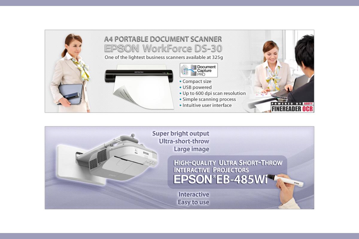 Web Banners Epson